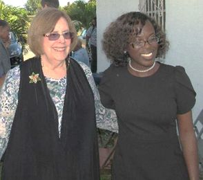 Mary Craig and Rev. Kimberly Tobias